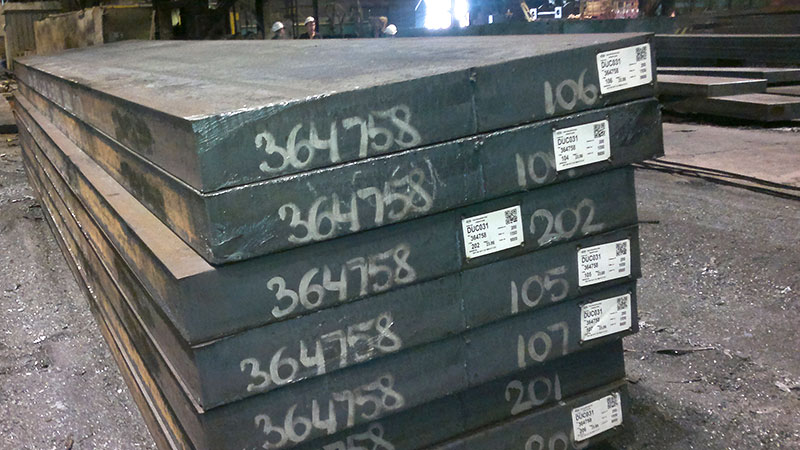 Rastreabilidade de componente metálico